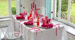 Bougies et centres de table